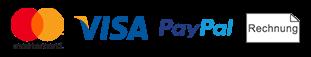Visa - MasterCard - PayPal - Rechnung