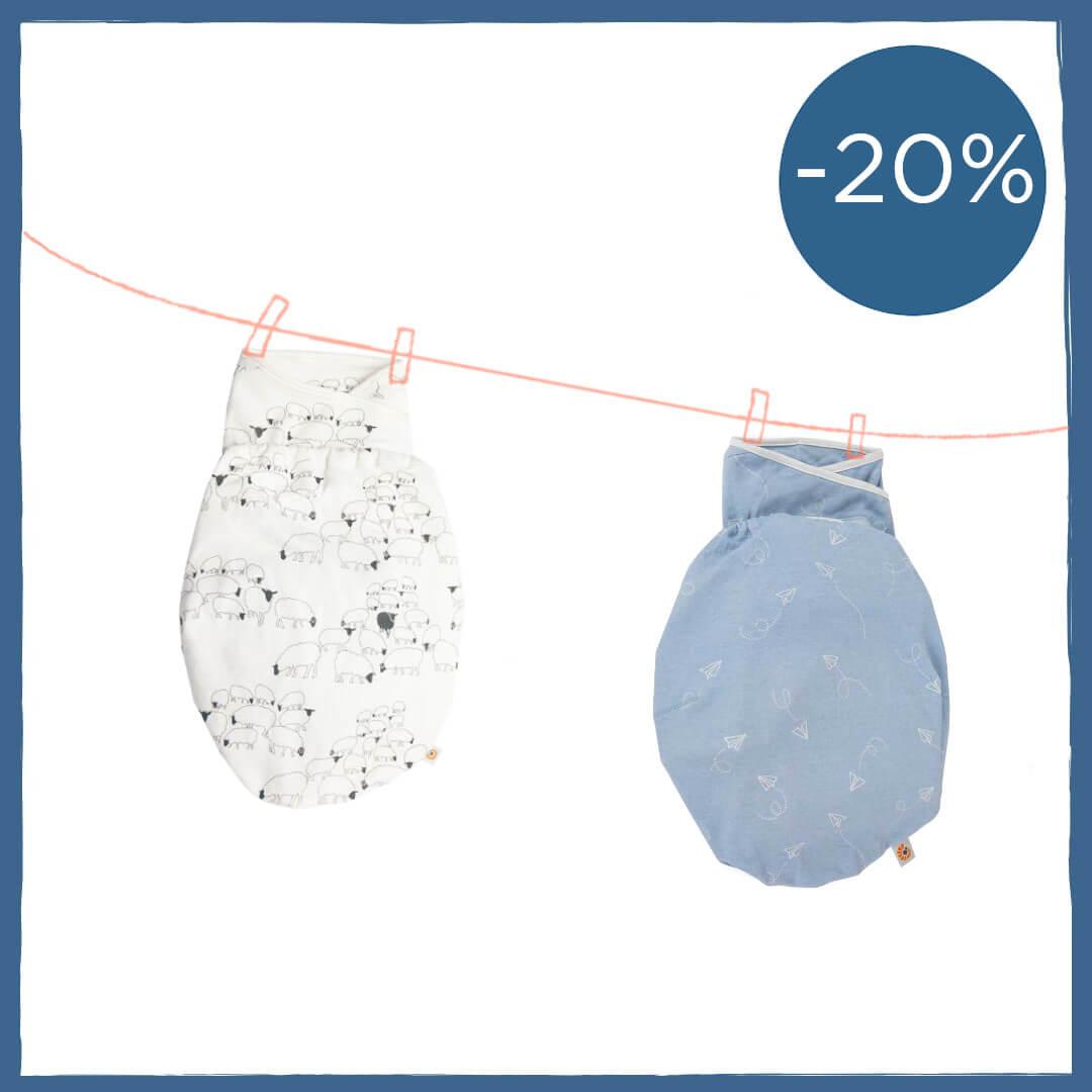 Ergobaby Swaddler Bundle - 20% off